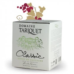 Domaine TARIQUET Classic Bag in Box 3 Liters