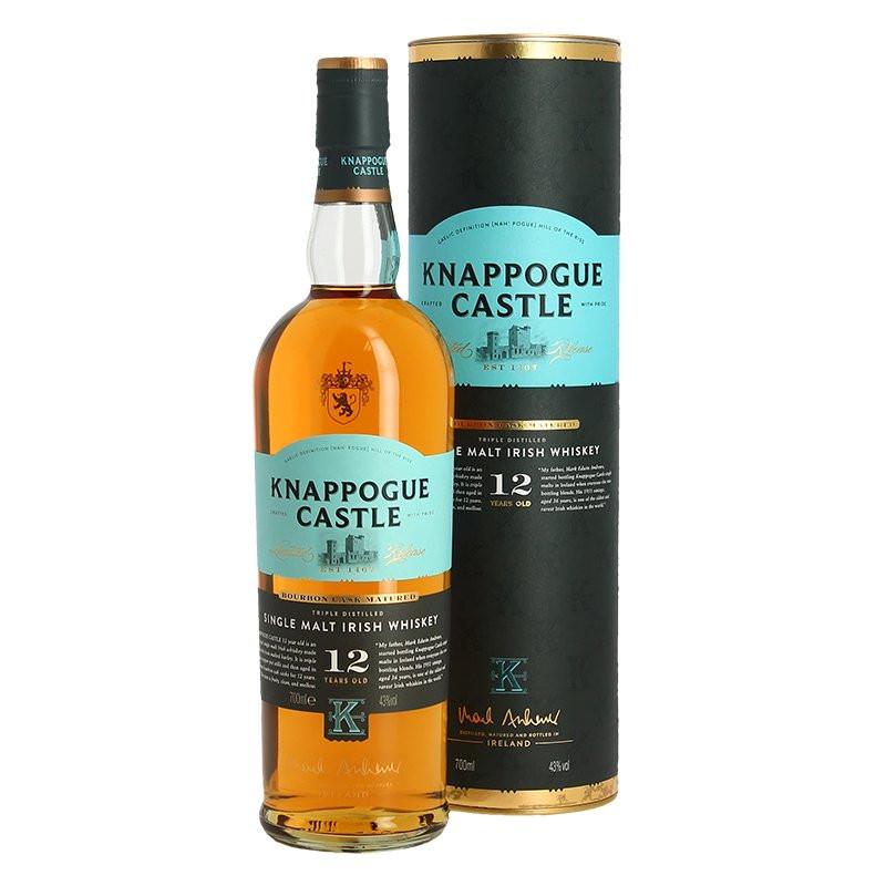 KNAPPOGUE Castle 12 YO Single Malt Irish Whiskey 70 cl