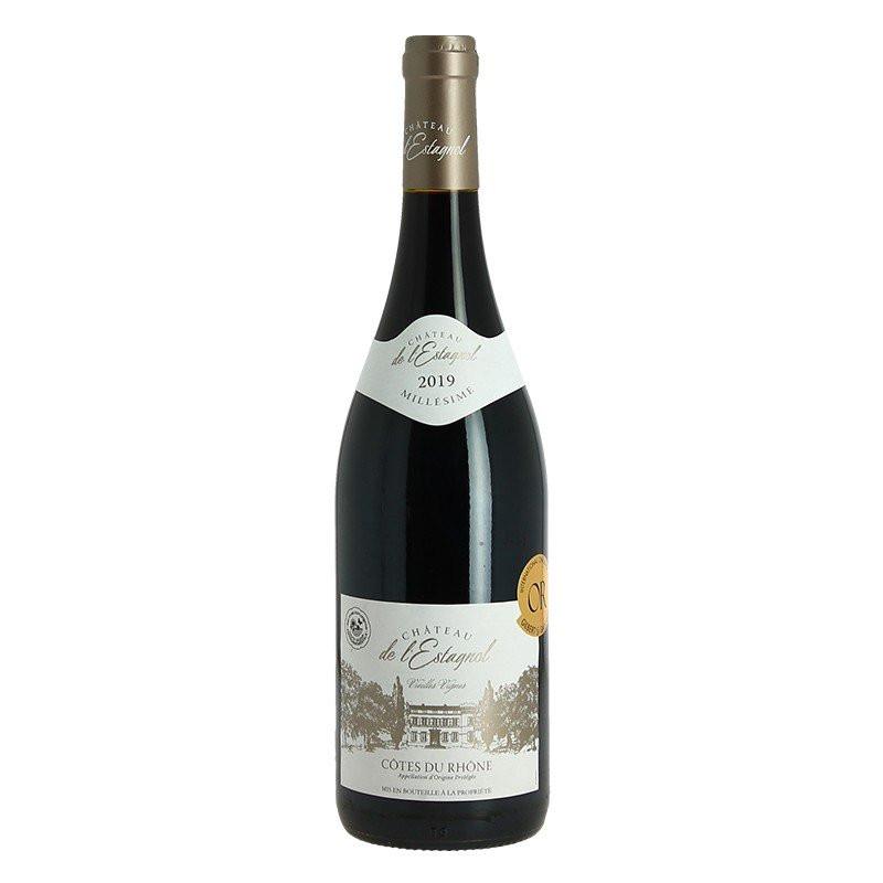 Château de l'Estagnol Côtes du Rhone red old vines 2019 75 cl