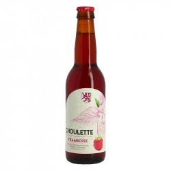 CHOULETTE French Ruby Beer flavored with RASPBERRY 33 cl