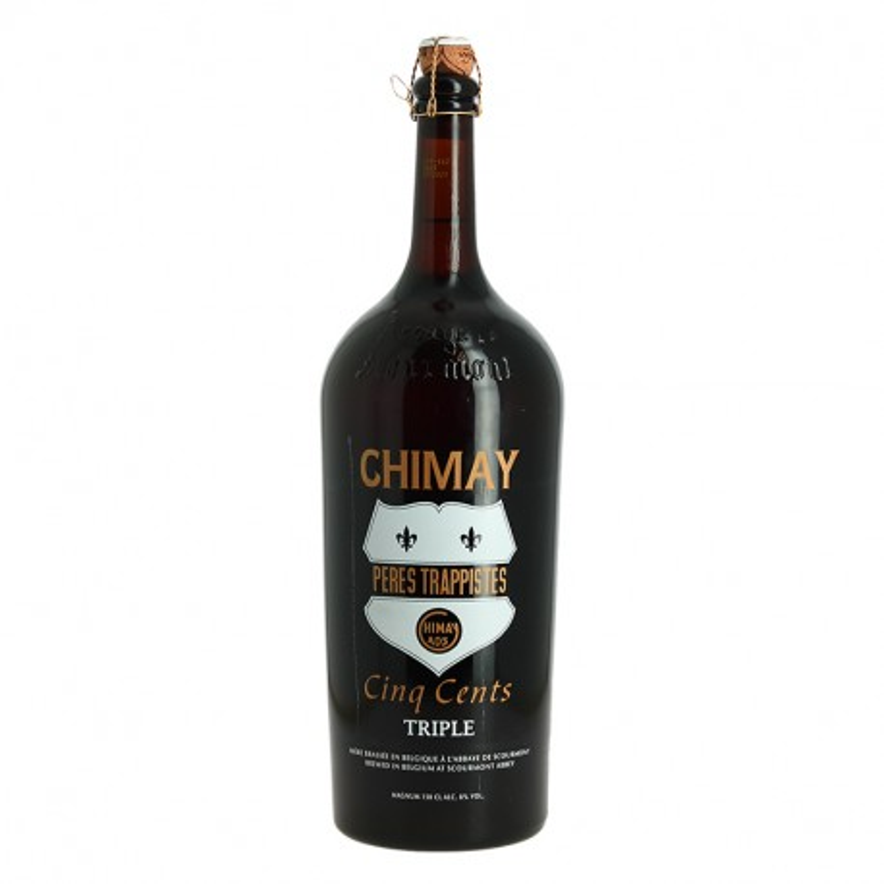 CHIMAY Belgian Beer Triple Cuvée Cinq Cent in Magnum