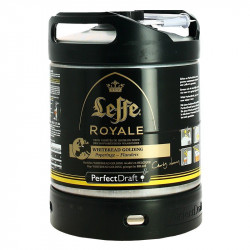 PERFECT DRAFT LEFFE ROYALE Belgian Abbey Beer 6L