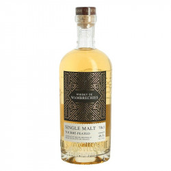 Whiskey from Wambrechies Peated Single Malt 70 cl