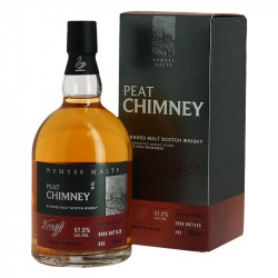 PEAT CHIMNEY Batch Strength Whiskey Limited Edition  57°