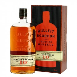 BULLEIT 10 YO Kentucky Straight Bourbon Whiskey 70 cl