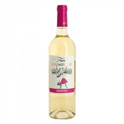 French Mademoiselle sweet Bordeaux white wine