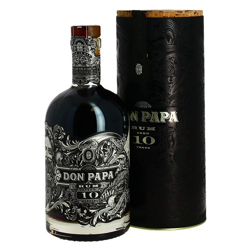 Rum Don Papa 10 years Rum from the Philippines