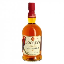 Doorly's 5 years Rum from Barbados