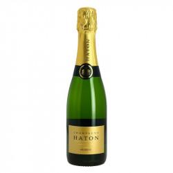 Half Bottle of Champagne Jean Noel Haton Brut Reserve