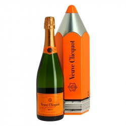 Champagne Veuve Clicquot Brut Pencil Gift Box