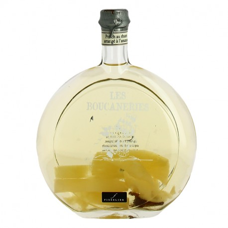Rum punch pineapple prepared by Jacques Fisselier