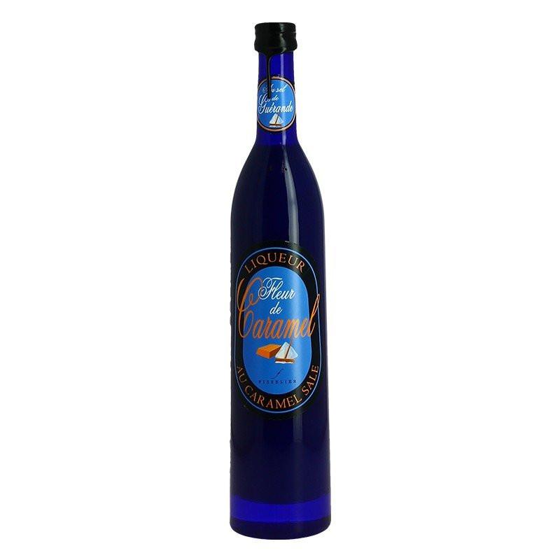 Fleur de Caramel liquor with Guérande Salt 50cl by Jacques Fisselier