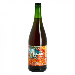 ALMA Double Season Rosé Beer by Brasserie Thiriez