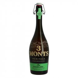 3 Monts Héritage Hops Beer Blonde Beer 75 cl