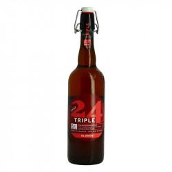 PAGE 24 Triple Bière de Garde Blond Artisanal Beer 75 cl