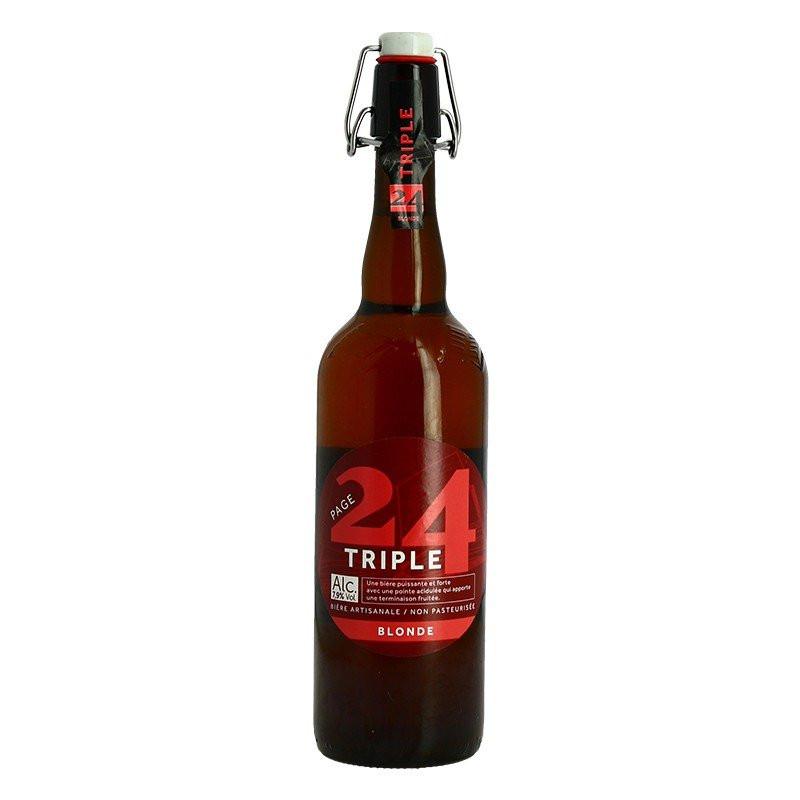 Page 24 Malts and Hoops Beer de Garde Blond Tripel Beer 75 cl