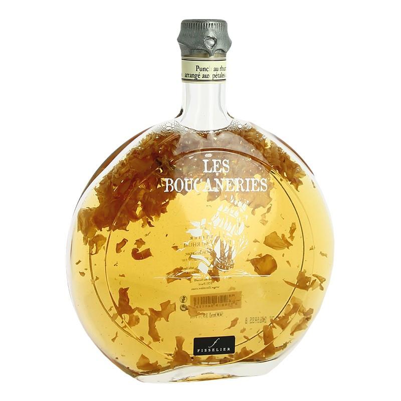 Arranged Rum Punch Rose flavour Boucanerie Fisselier 50cl