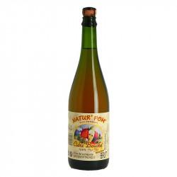 Cider Brut Bouché Natur'Pom 75 cl