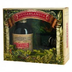 DON PAPA Rum Gift Box SUGARLANDIA + 1 Glass