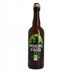 Moulins d'Ascq Organic Blonde Summer Beer 75 cl