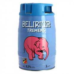 DELIRIUM Tremens  Belgian Triple Beer 5 Liters Keg