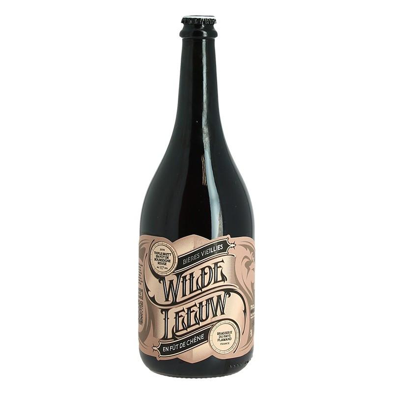 WILDE LEEUW Beer Blonde Triple Brett beer aged in Red Burgundy Barrels