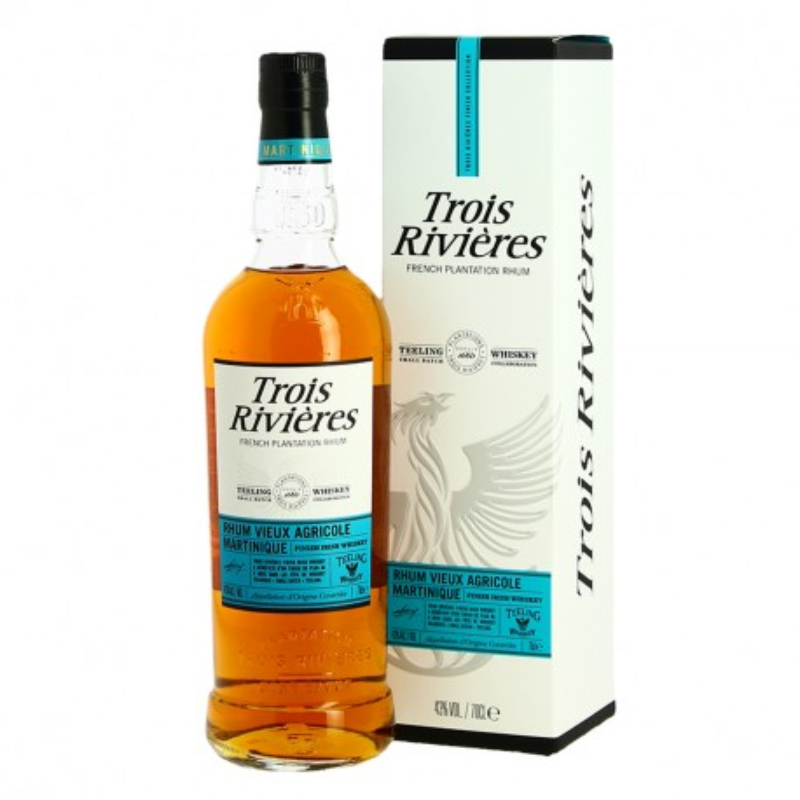Rum 3 RIVIERES TEELING Irish Whiskey barrel finish