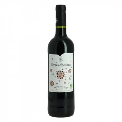 Buzet Terres d'Anthéa organic red wine without added sulfites