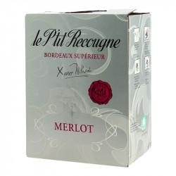 Boxed Wine 5 Litres Petit RECOUGNE Bordeaux Supèrieur