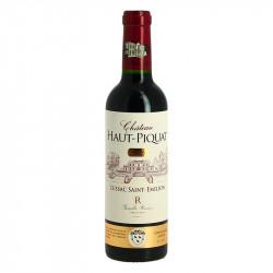 Half Bottle Château Haut PIQUAT LUSSAC St Emilion Maison Rivière