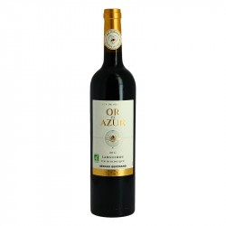 Or & Azur organic red Languedoc wine by Gérard Bertrand