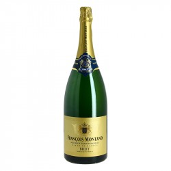 Francois Montand Magnum Brut Traditional Method sparkling wine