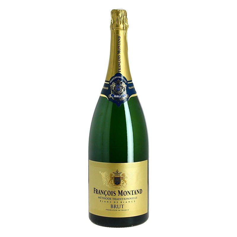 Francois Montand Magnum Brut Traditional Method sparkling wine