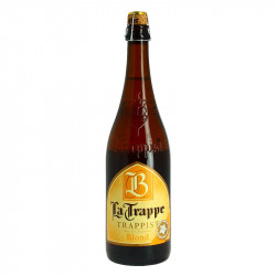 La Trappe Beer Trappist Blonde de Hollande 75cl