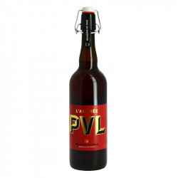 PVL Amber Beer with Chicory 75 cl