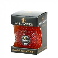 OLD St ANDREW Golf Ball Shape Mini Bottle of  Blended Scotch Whiskey