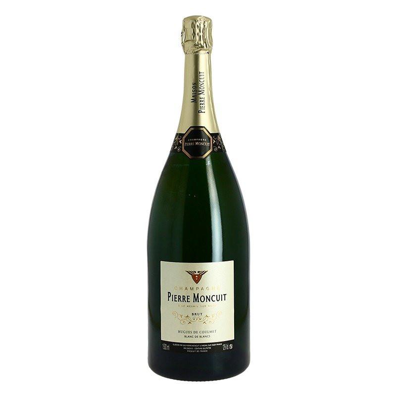 Magnum of Pierre Moncuit  Cuvée Hugues de Coulmet Champagne Blanc de Blanc