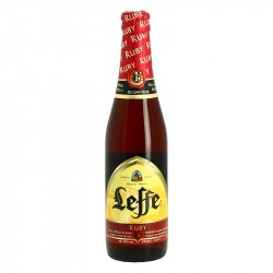 Leffe Ruby Belgian Red Abbey Beer 33 cl