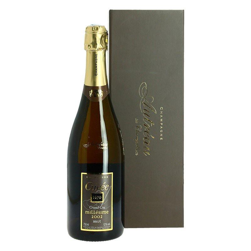 Champagne Autreau Cuvee 1670 Grand Cru 2002