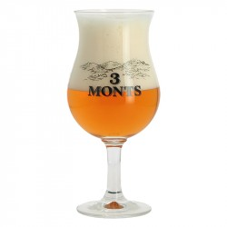 TROIS MONTS Beer Glass