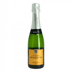 Half bottle Champagne Serveaux Carte d'Or 37.5 cl