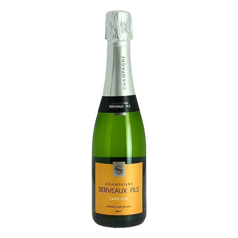 Half bottle Champagne Serveaux Carte d'Or 37.5 cl