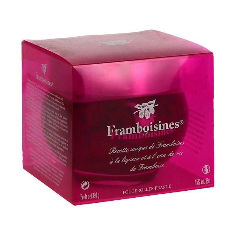 Framboisines 35cl box by Peureux Distillery