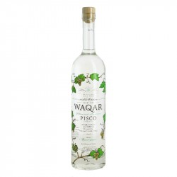 Pisco Waqar Eau de Vie from Chile Wine