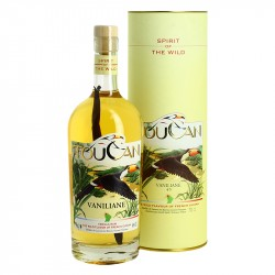 TOUCAN VANILIANE RHUM from Guyana with Madagascar vanilla 70 cl