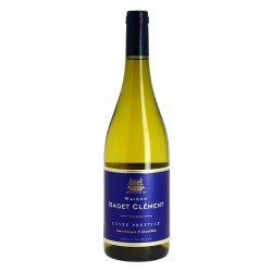 Badet Clement white wine Cuvée Prestige