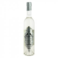 Versinthe La Blanche with Absinth Plants