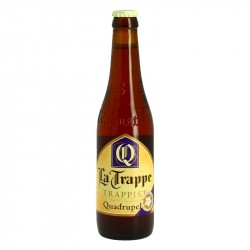 La Trappe Quadrupel 33 cl Trappist Beer From Hollande