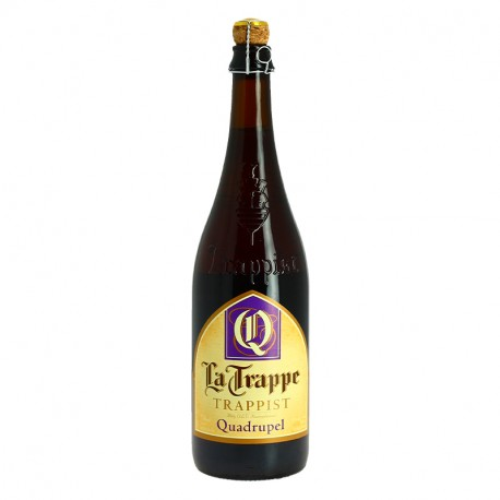 La Trappe Quadrupel Trappist Beer from Holland 75cl