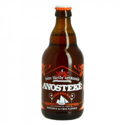 ANOSTEKE IPA 33 cl French Hoppy Craft Blonde Beer